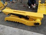 Garra hidráulica do polegar de R220LC-9s para a máquina escavadora