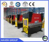 Máquina de dobra hidráulica da série de WC67Y com certificado do GV
