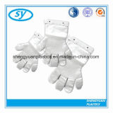 Пластиковый одноразовый PE медицинских перчатки перчатки медицинского учреждения