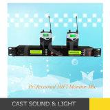 耳のモニタリングのマイクロフォンシステムの専門のマルチチャネルの無線電信