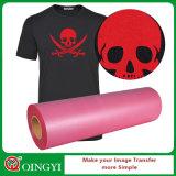Qingyi t-셔츠를 위한 강한 입체 음향 감 무리 열전달 필름