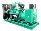 Interruttore automatico 750kVA elettrico 600kw Genset silenzioso diesel di trasferimento