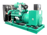Chave de transferência automática elétrica 750kVA 600kw Diesel Silent Genset