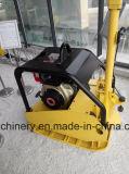 Compacteur réversible hydraulique Gyp-40 de saleté de plaque de Geyo