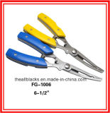 Pinces d'acier inoxydable ; Pêchant la Pinces-Pêche de bouche incurvée par attrait aborde Fg-1006