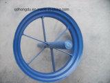 Una rotella di gomma solida da 14 pollici per la carriola