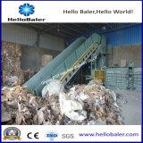 Máquina de enfardamento de papel hidráulico semiautomático para centro de reciclagem