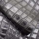 Couro de imitação gravado preto do plutônio, couro Textured do plutônio do Synthetic