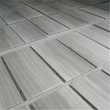 Hot Sale Blanc carreaux de marbre de grain du bois et de dalles