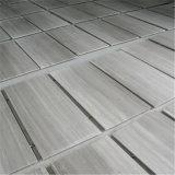 熱い販売の白い木製の穀物の大理石のタイルおよび平板