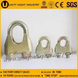 Clip galvanisé par DIN1142 chaud de câble métallique d'acier de vente