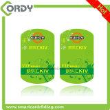 PVC ultraligero EV1 RFID de la alta calidad MIFARE Keyfob