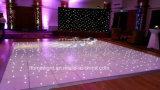 La irregularidad de Baile de LED iluminado por las estrellas para Boda