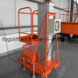 8m hidráulico eléctrico o de baterías de aluminio de aleación de Plataforma de elevación