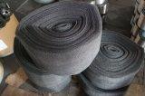 철망사가 철사 0.2 mm에 의하여, 50-70 Cm 폭, 50 M 길이 Ss304, 304L, 316, 316L 뜨개질을 했다