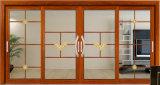 Новые двери сползая стекла самомоднейшей конструкции алюминиевые горизонтальные