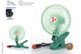 "5 "" mini Grampo-em Car Fan de 12V/24V para Multiple Usage com Two - velocidade Switch"