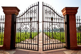 販売のための普及した熱い販売の美しい錬鉄のゲート