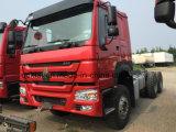 HOWO 6X4 트랙터 트럭 10 짐수레꾼 트레일러 트럭 헤드