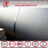 Placa Checkered galvanizada A36 de Q235 Ss400