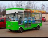Stadt-Gaststätte-Auto und elektrisches speisendes Auto