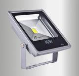 Diseño delgado 30W del reflector de la luz de inundación de la MAZORCA LED LED
