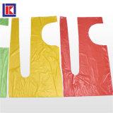 중국제 LDPE/HDPE 롤에 처분할 수 있는 플라스틱 PE 앞치마