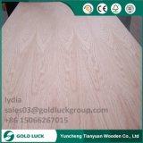 家具のための4/6/9/12mmのBintangor/Okoume/Poplar/Cherry/Teak/Birchによって薄板にされる合板
