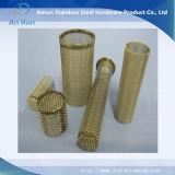 フィルター管として真鍮の金網