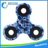 EDC friemelt de Spinner van de Hand van het Stuk speelgoed de Plastic Spinner van de Camouflage