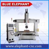 Ele1224-5 축선 CNC 대패 3D 목제 조각 기계