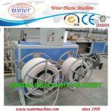 De PP de plástico de PVC PE AP linha de máquinas para fabricação de tubagens