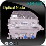 ファイバーの光学4出力された受信機を使用してOutddor