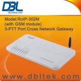 Gateway RoIP-302m (répéteur radioélectrique) de RoIP VoIP de Croix-Réseau de DBL