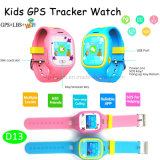 Bunter Touch Screen GPS-Verfolger Kidswatch mit Multi-Sprachen (D13)