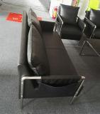 1 Cbm per sofà dell'ufficio dell'insieme, sofà del cuoio del blocco per grafici d'acciaio (6927)