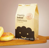 Baguette de pan de panadería bolsas de papel de la bolsa de papel marrón