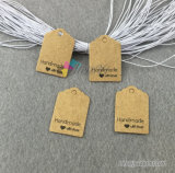 Custom Top Quality Fashion Kraft Cartboard Hang Tags pour les vêtements