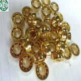 roulement Gold-Plated Sr188kk de bille de yo-yo de bille de l'acier inoxydable 10 de 6.35*12.7*4.762mm