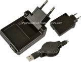 iPhone &iPad (EU 플러그)를 위한 USB 힘 충전기