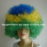 2014 Copa Mundial de Brasil, los fanáticos del fútbol pelucas