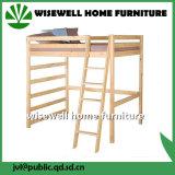 Base de beliche contínua da madeira de pinho com tabela do estudo