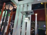 Lámpara de pared solar de la calle del LED con el sensor de movimiento para el jardín