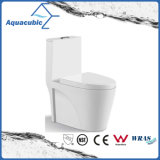 Una pieza de cerámica de doble WC Flush en White (ACT7911)