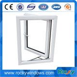 Aluminium et PVC glacés imperméables à l'eau Windows et portes d'interruption thermique doubles