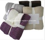 100% polyester micro Vison Quliting Couverture en laine polaire