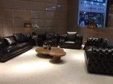 Mobília da sala de estar Living Sofá de couro