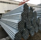 Construcción Q235 galvanizada alrededor del tubo de acero/del tubo soldado
