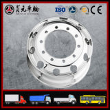 Bordas forjadas da roda do caminhão da liga de alumínio (22.5X9.00 8.25 11.75)