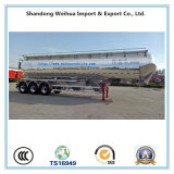 трейлер топливозаправщика цемента большого части алюминиевого сплава 60cbm с Axles Fuwa